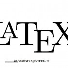 LATEX - SKŁAD TEKSTÓW MATEMATYCZNYCH, PRZEPISYWANIE PRAC